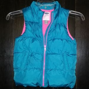 Old Navy Frost Free Puffer Vest 5T